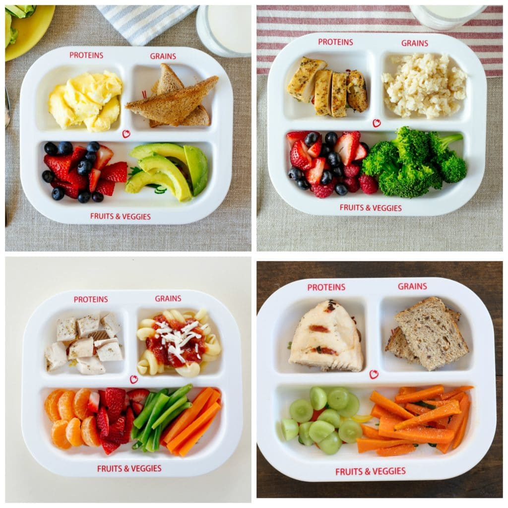 Portion controlled meal ideas