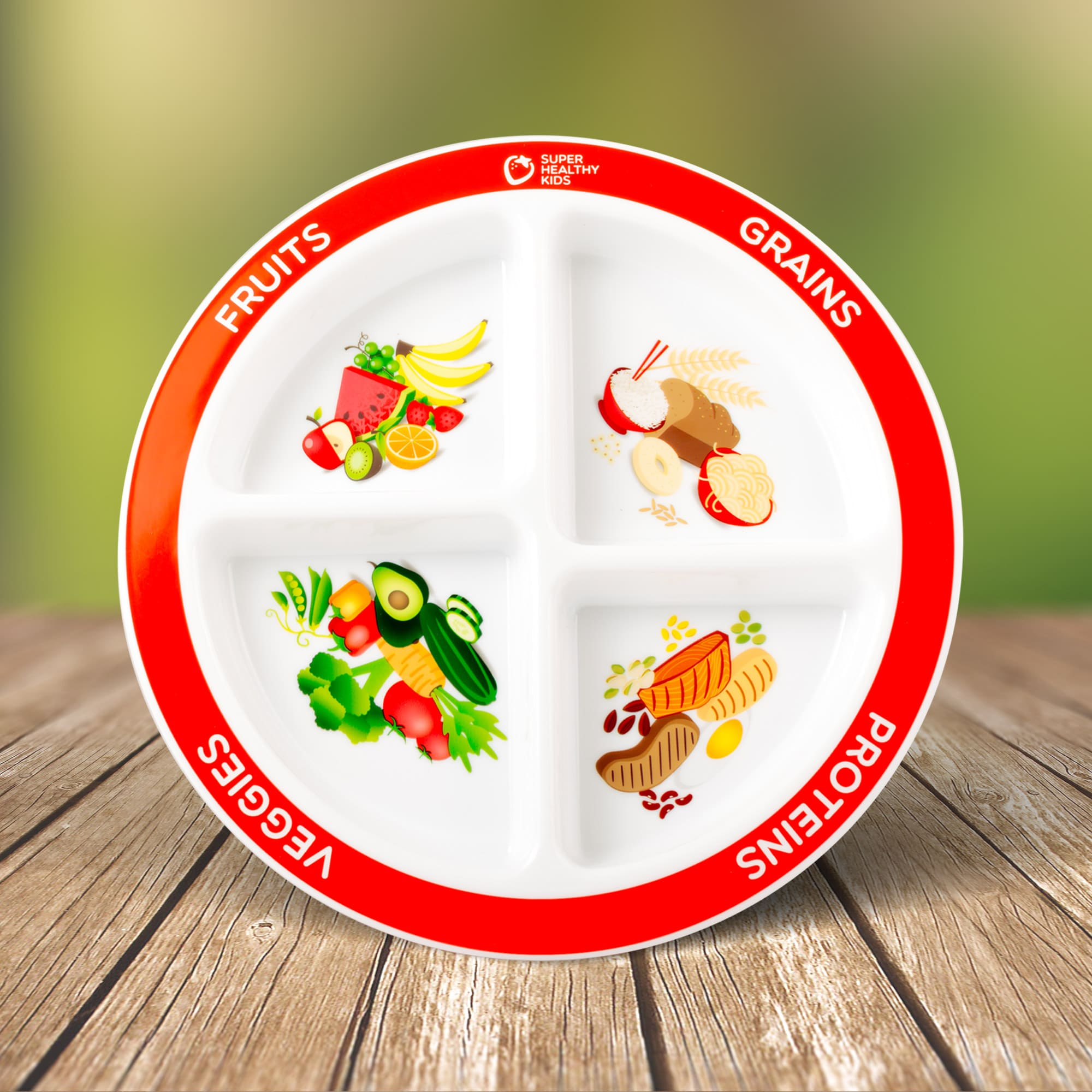 portion control plate for kids for reaching health goals