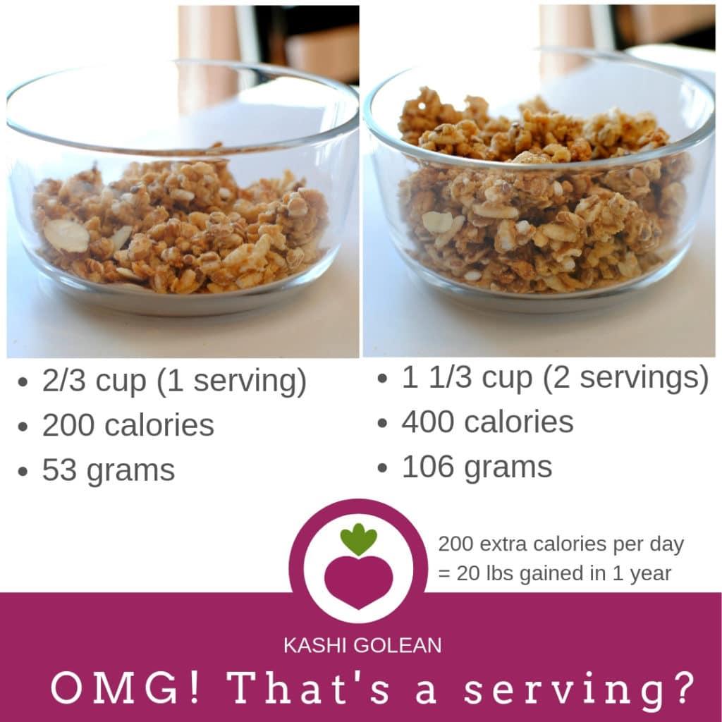 portion size comparisons