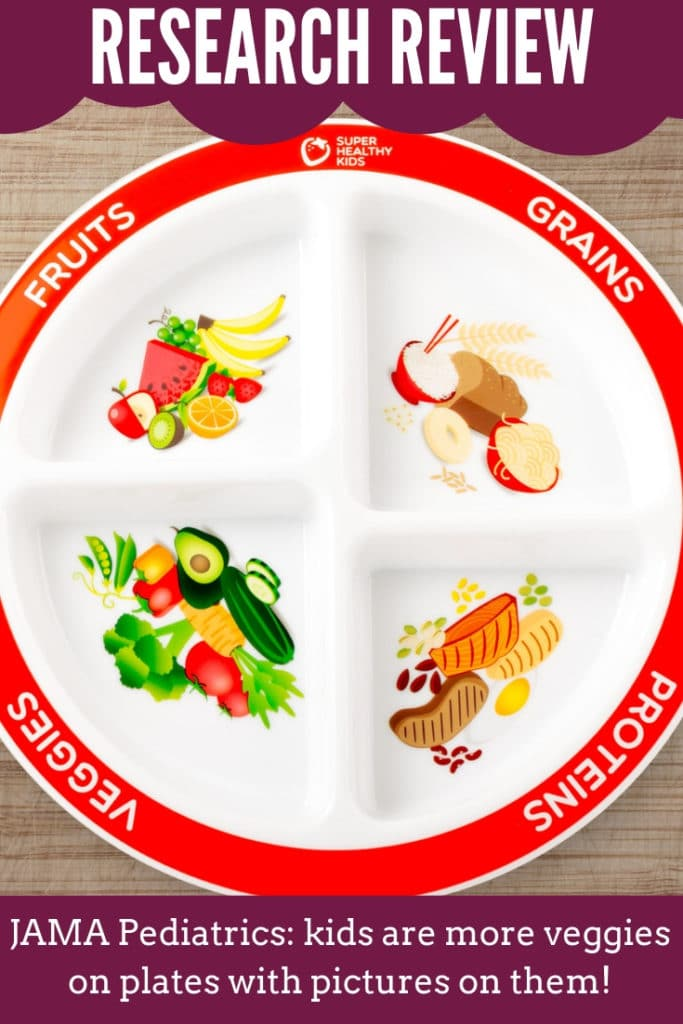 Portion plate for kids