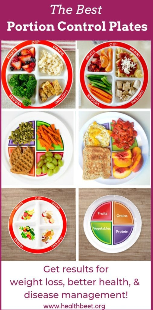 The best portion control plates for kids and adults