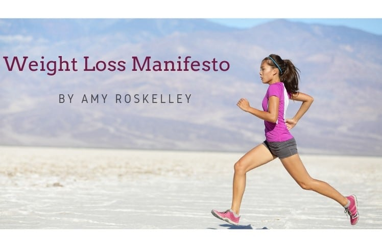weight loss manifesto