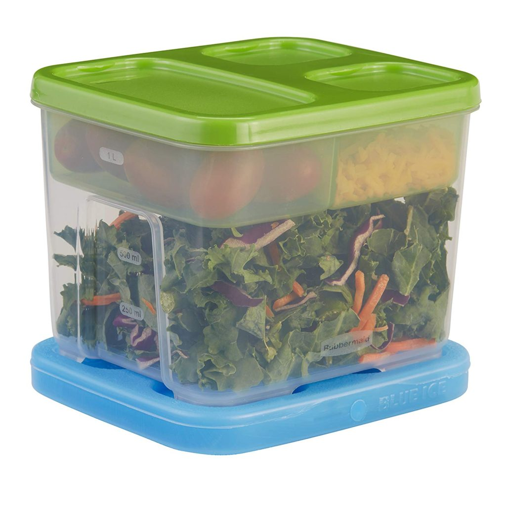 rubbermaid portion control container