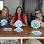 DIY portion control plates