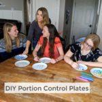 DIY Portion Control Plate
