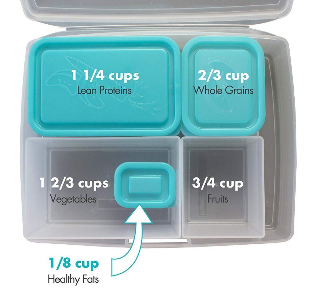 portion control bento box