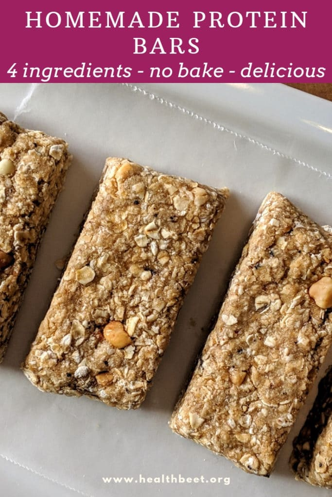 homemade protein powder bars . easy and delicious