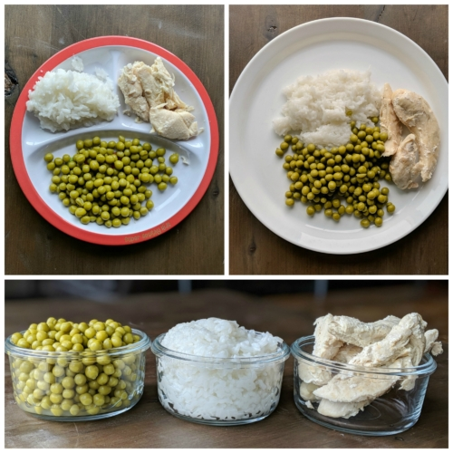Portion plate vs dinner plate