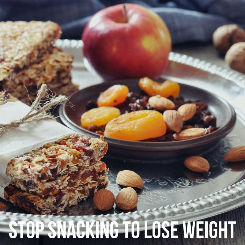 stop snacking and lose weight