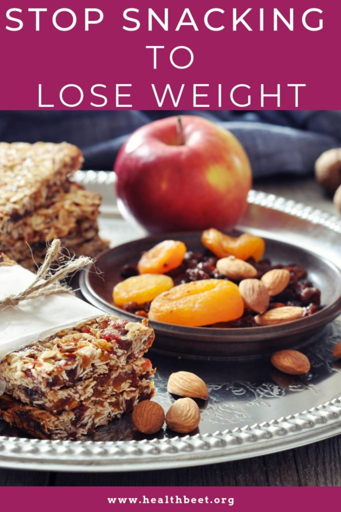 Stop snacking to lose weight