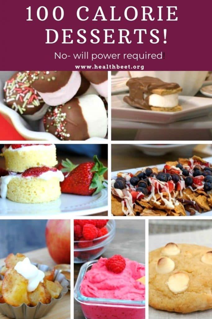 100 calorie dessert roundup low calorie recipes