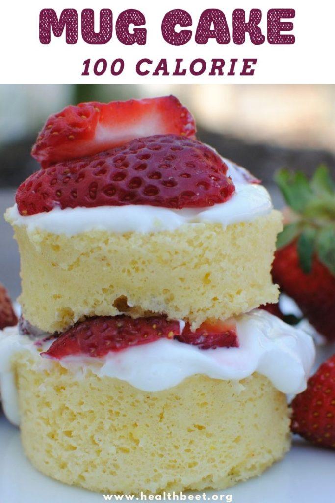 Low Calorie Mug Cake Recipe Health Beet