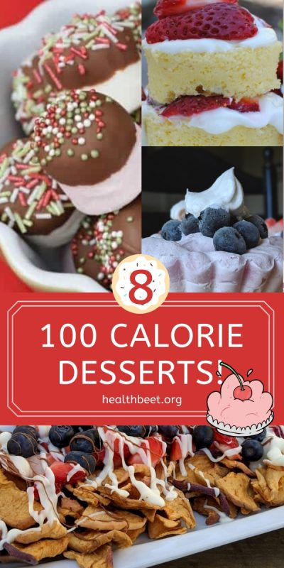 8 100 calorie desserts for a healthy diet