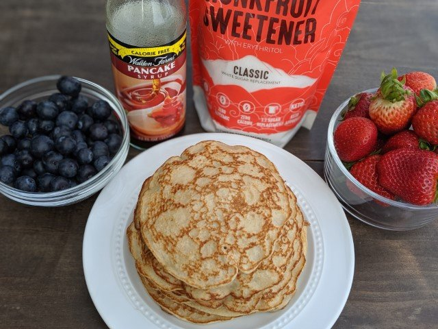 low calorie body for life pancakes recipe that is also high in protein