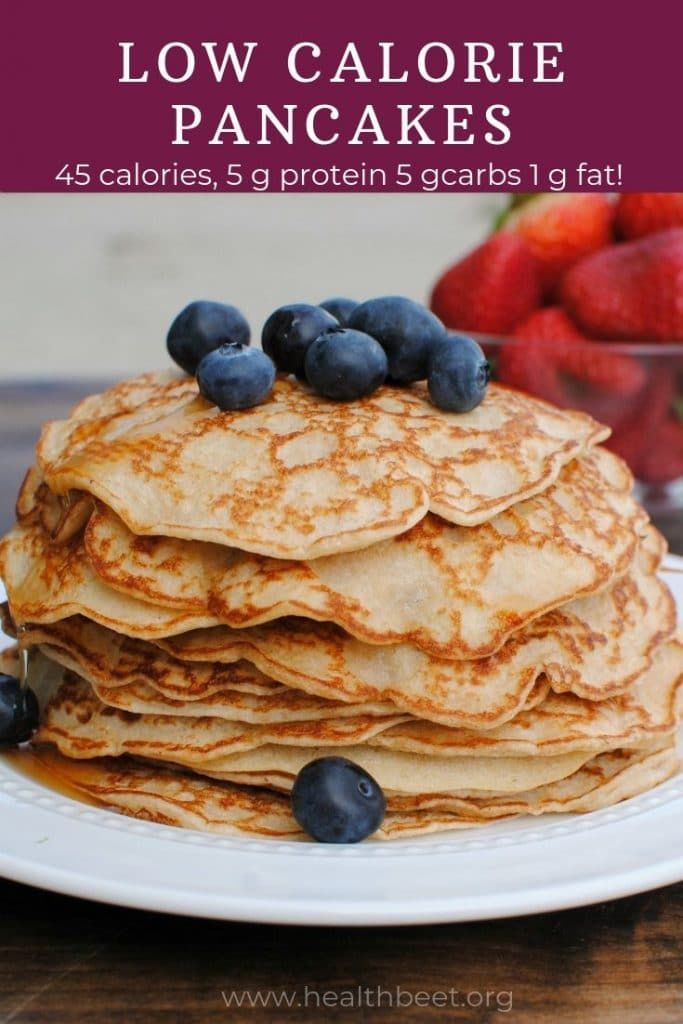 low calorie pancakes body for life recipe.  Also known as cottage cheese pancakes