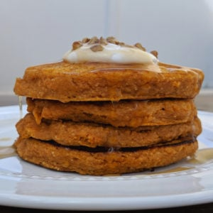 sweet potato pancake with oats
