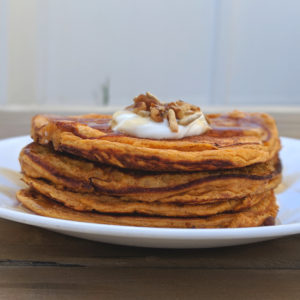 sweet potato pancakes with protein powder