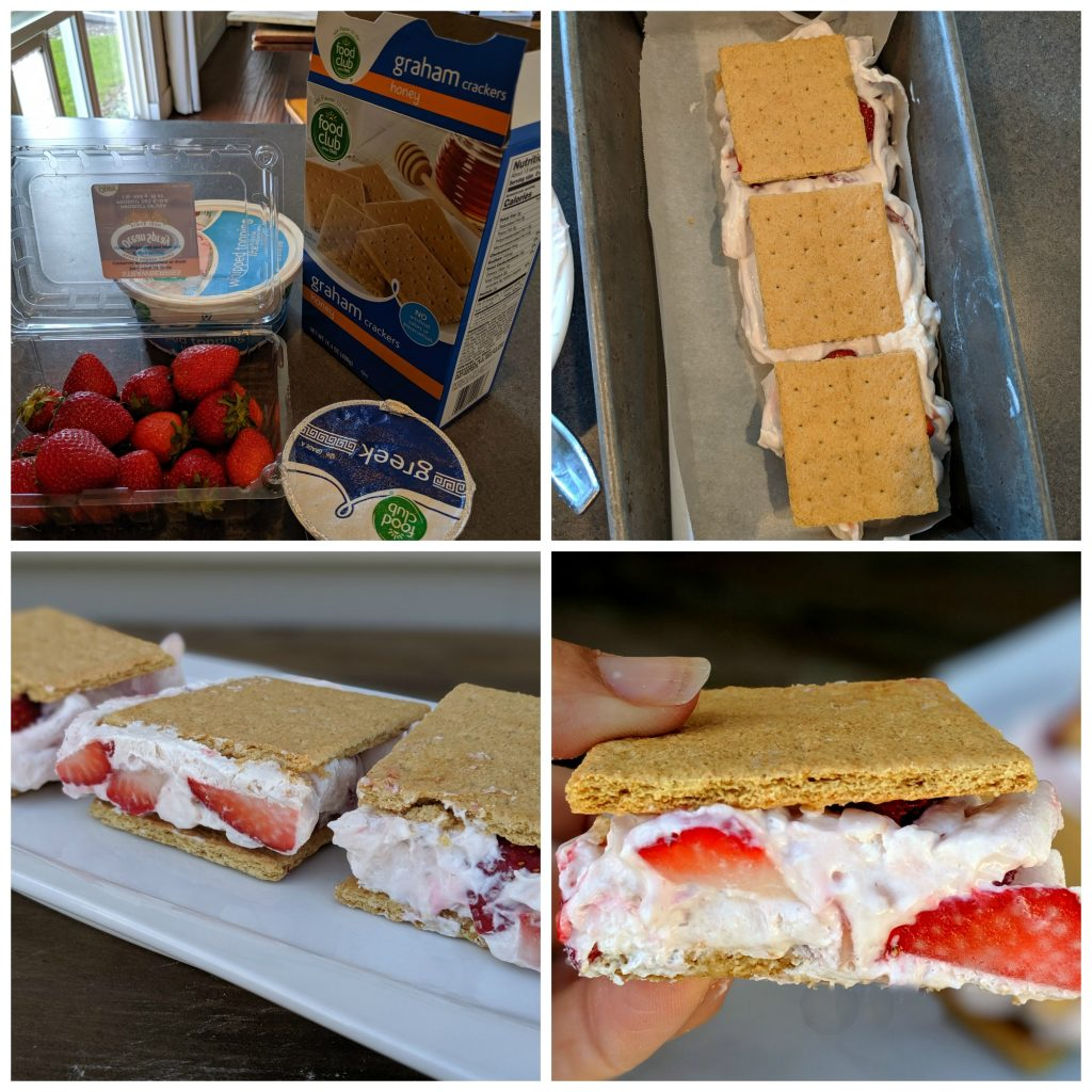 how to make low calorie low fat ice cream sandwiches