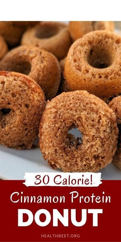 30 calorie cinnamon protein donut