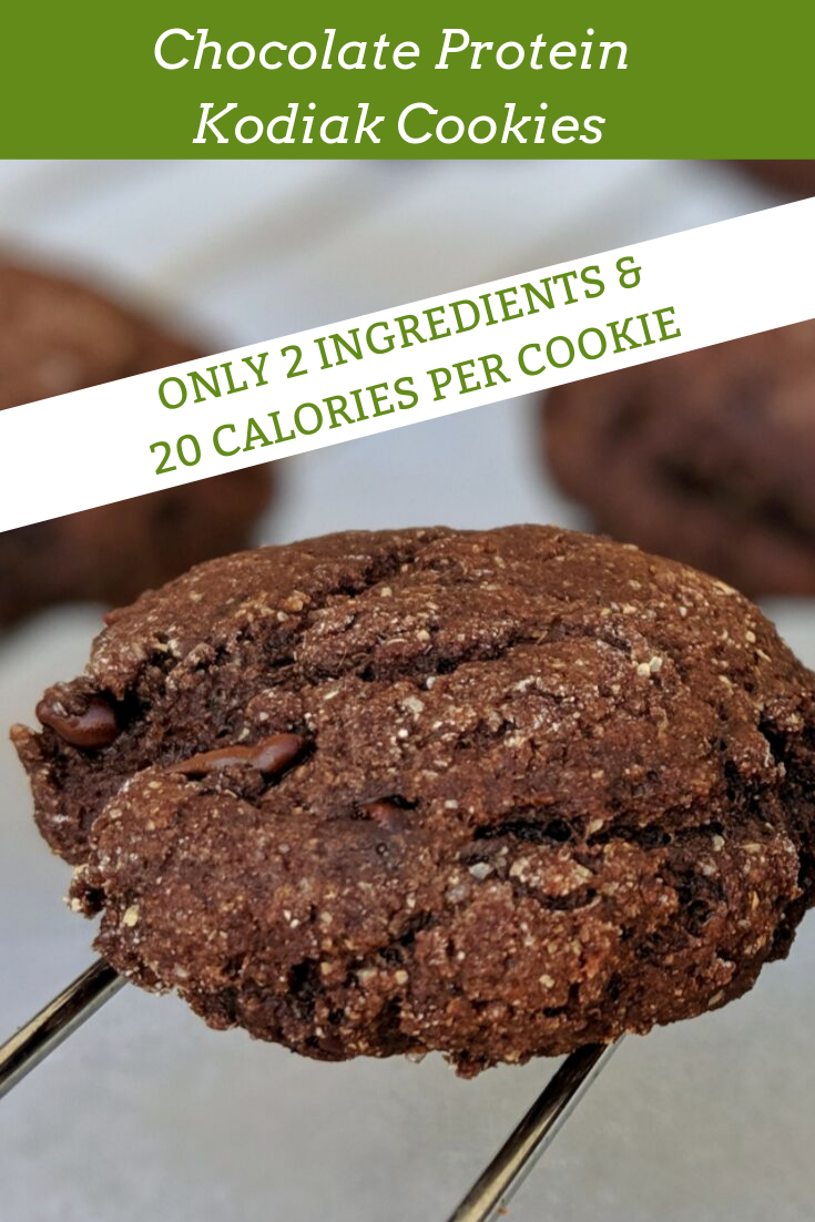 Chocolate protein kodiak cookies 20 calories each