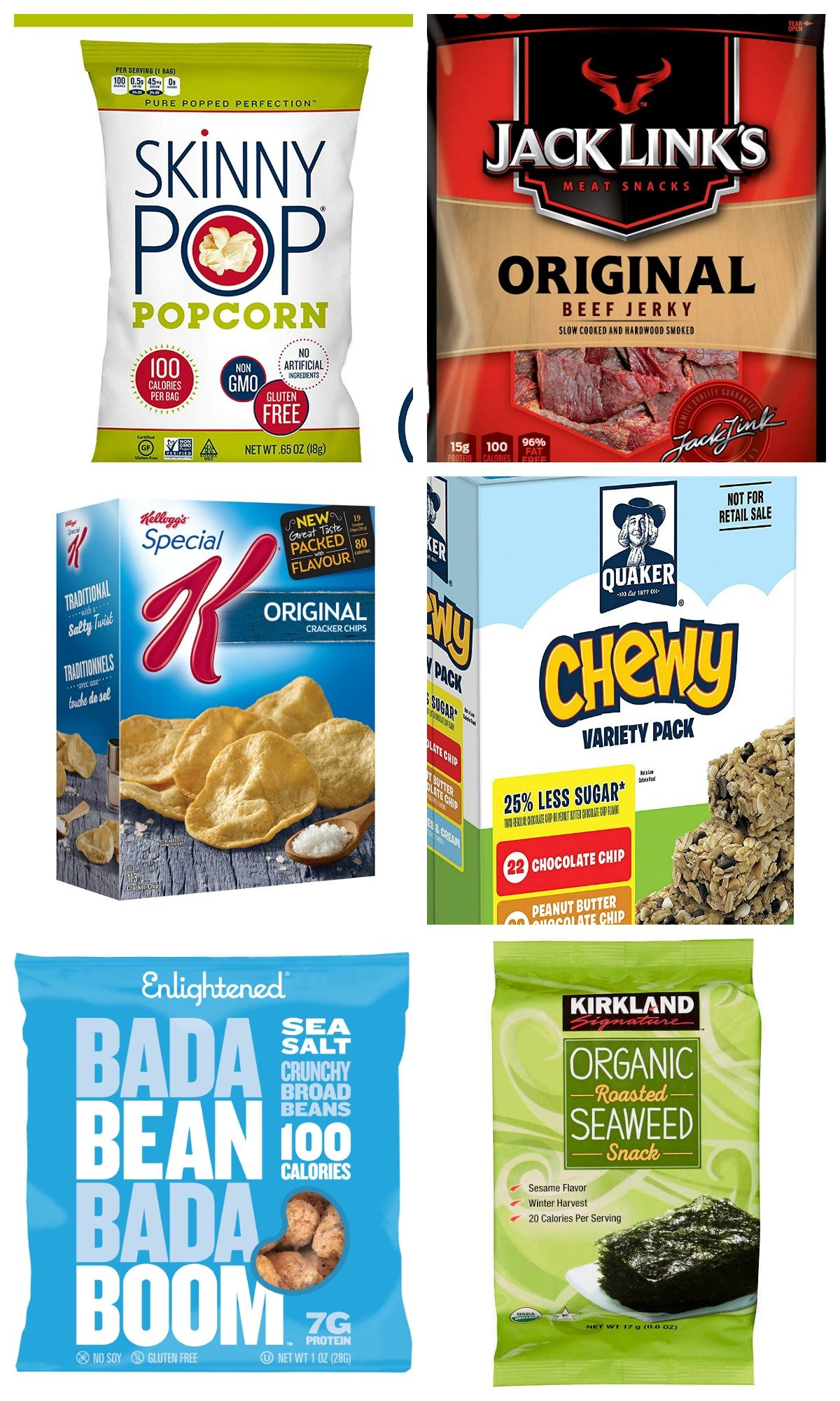 low calorie road trip snacks