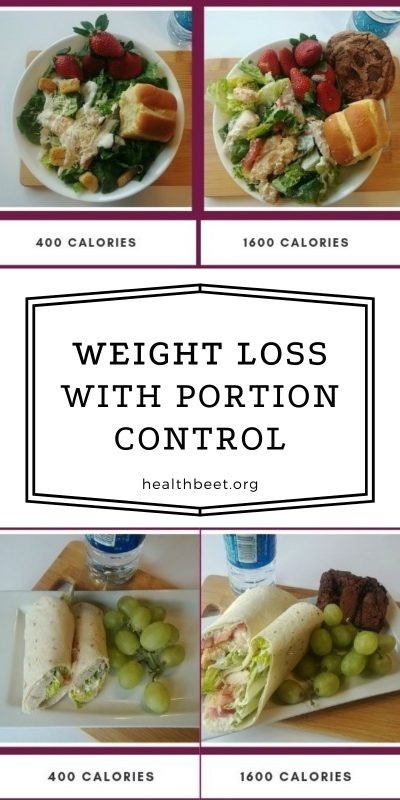 WEIGHT LOSS WITH PORTION CONTROL