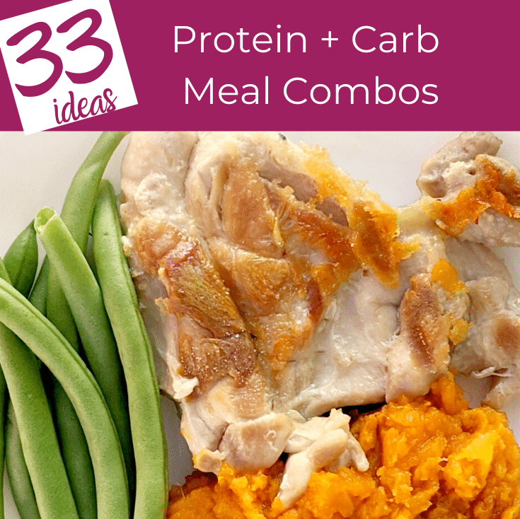 protein plus carbs