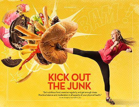 Mormonad- kick out the junk