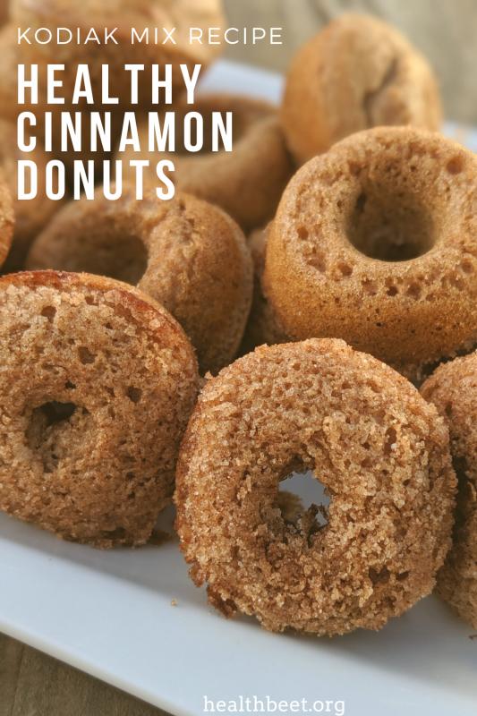 Healthy Cinnamon Donuts Recipe