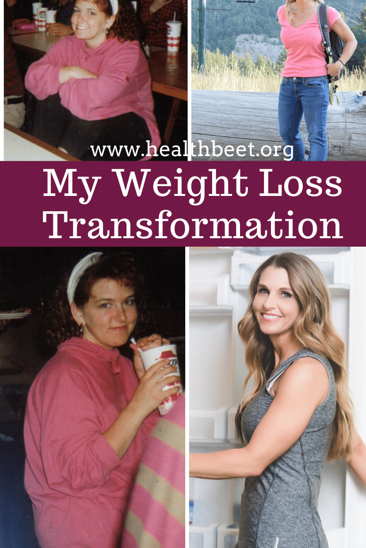 My weight loss transformation and journey