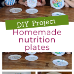 DIY homemade nutrition plates