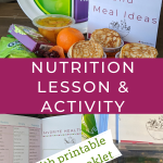 Nutrition lesson and activity for young girls