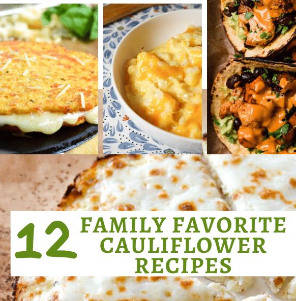 12 family favorite cauliflower recipes main image
