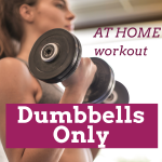 Dumbbells only at home workout list