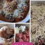 Healthy meatball recipe without bread crumbs and extra cheesy