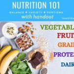 Nutrition Basics with PDF