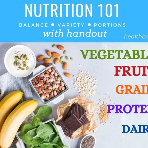 Nutrition basic with pdf printable
