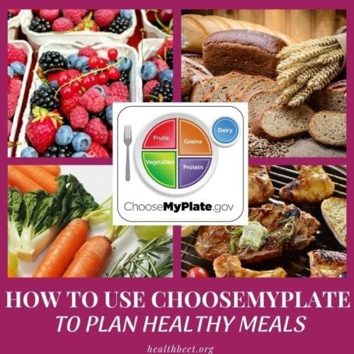 planning healthy meals with choose myplate