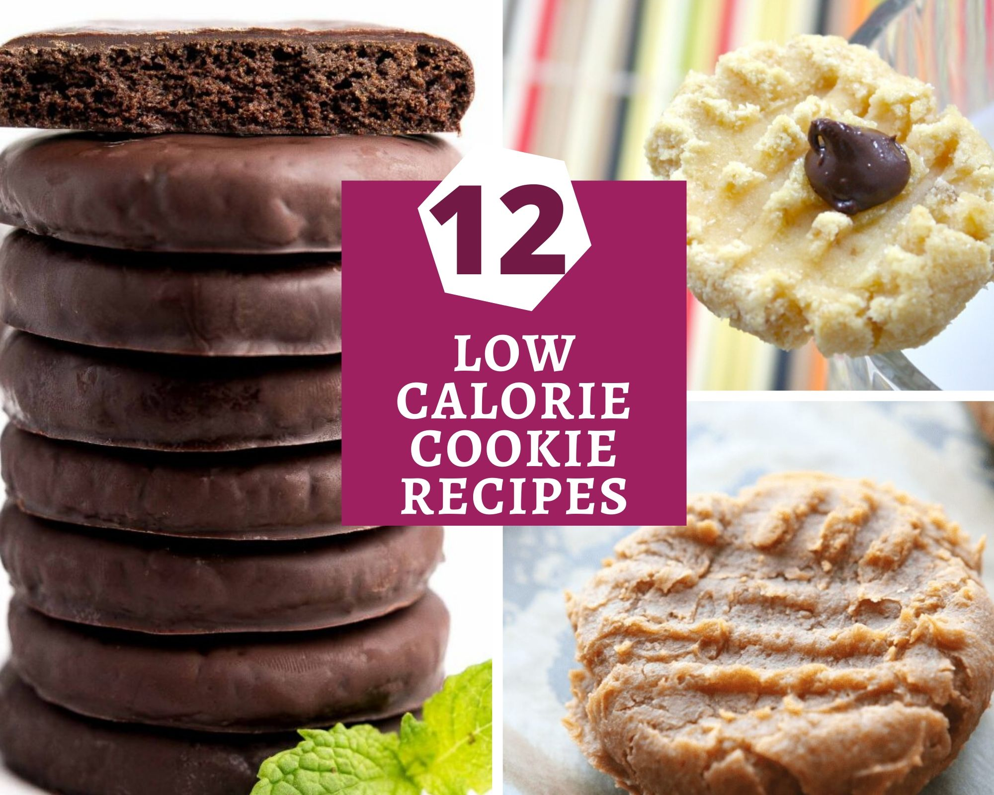 12 healthy low calorie cookie recipes