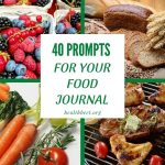 40 Prompts for Your Food Journal