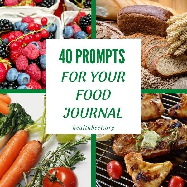 40 prompts for your weight loss journal