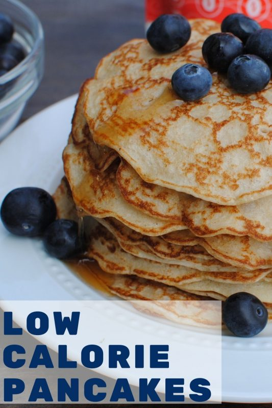 Delicious healthy high protein low calorie pancakes