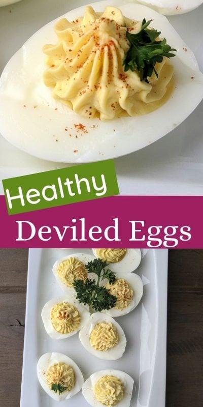 Healthy Deviled eggs recipe