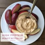 High Protein Peanut Butter Dip