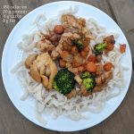 chicken lo mein low calorie with nutrition info