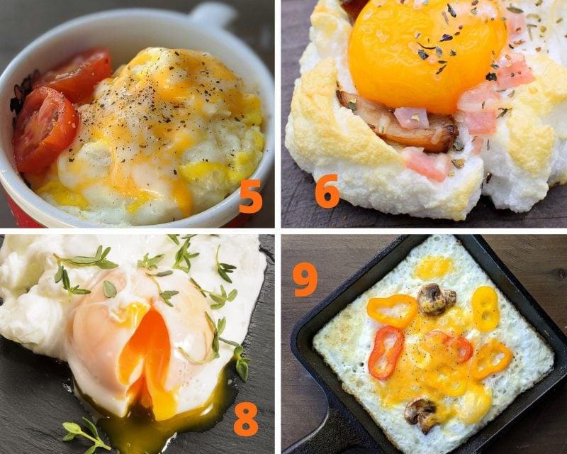 egg breakfast ideas