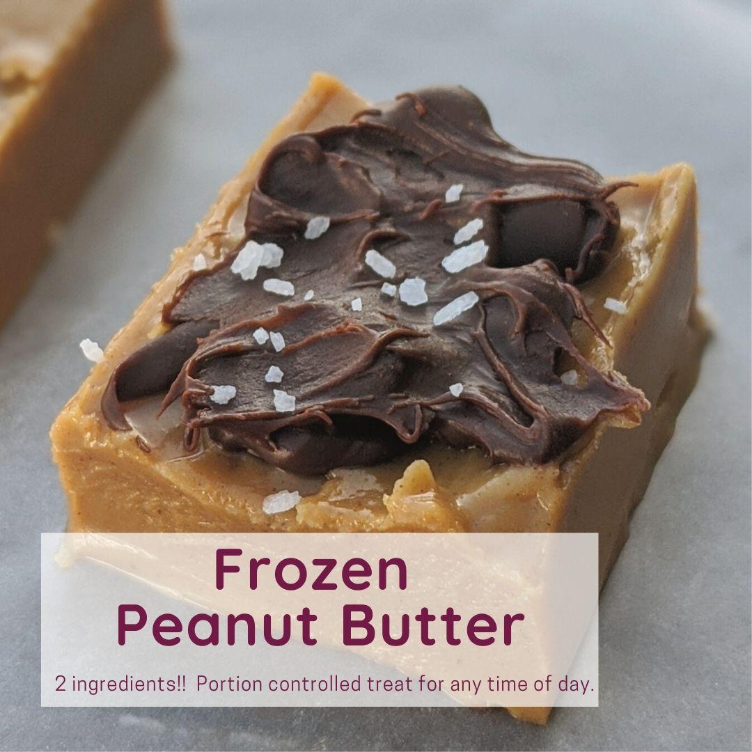 frozen peanut butter your new favorite treat