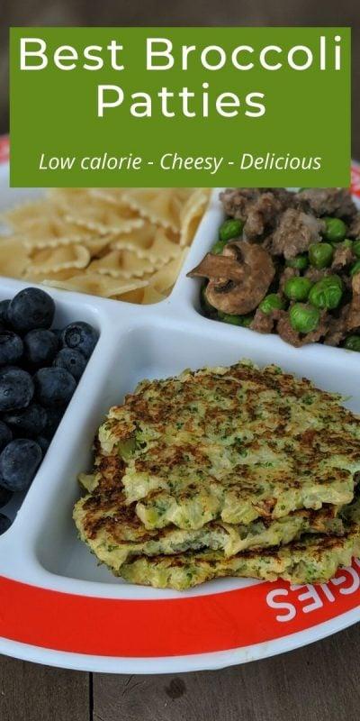 low calorie cheesy delicious broccoli patties