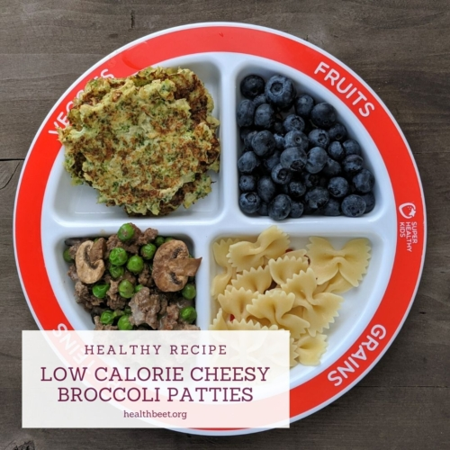 low calorie cheesy delicious broccoli patties