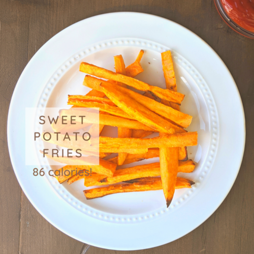 low calorie sweet potato fries